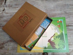 Dein Beziehungskoffer mit Spielfeld und Karten